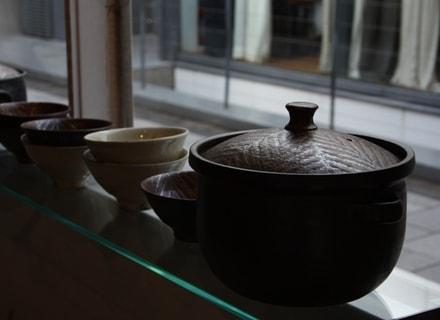城さんの土鍋と器