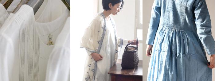 インド カディコットンの春の服