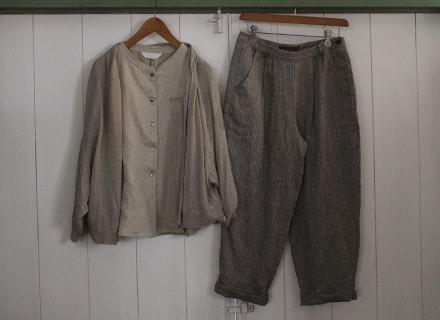 リゼッタのシャツとパンツ